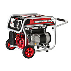 A-iPower 5,000W Gasoline Powered Manual Start Generator