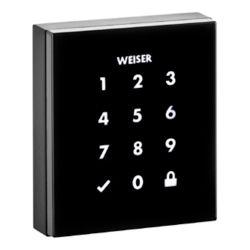 Weiser Obsidian Black Keyless Entry Touchscreen Electronic Deadbolt
