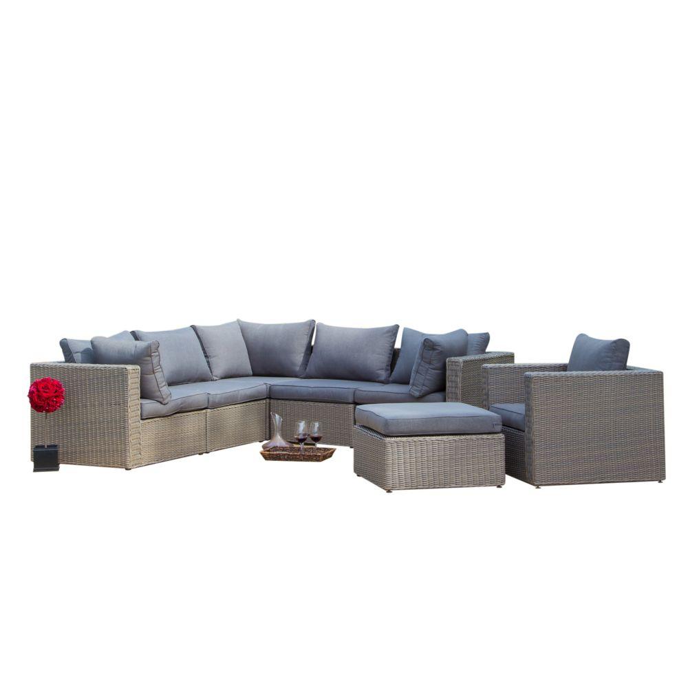 Sirio Pesaro 7-Piece Patio Seating Set