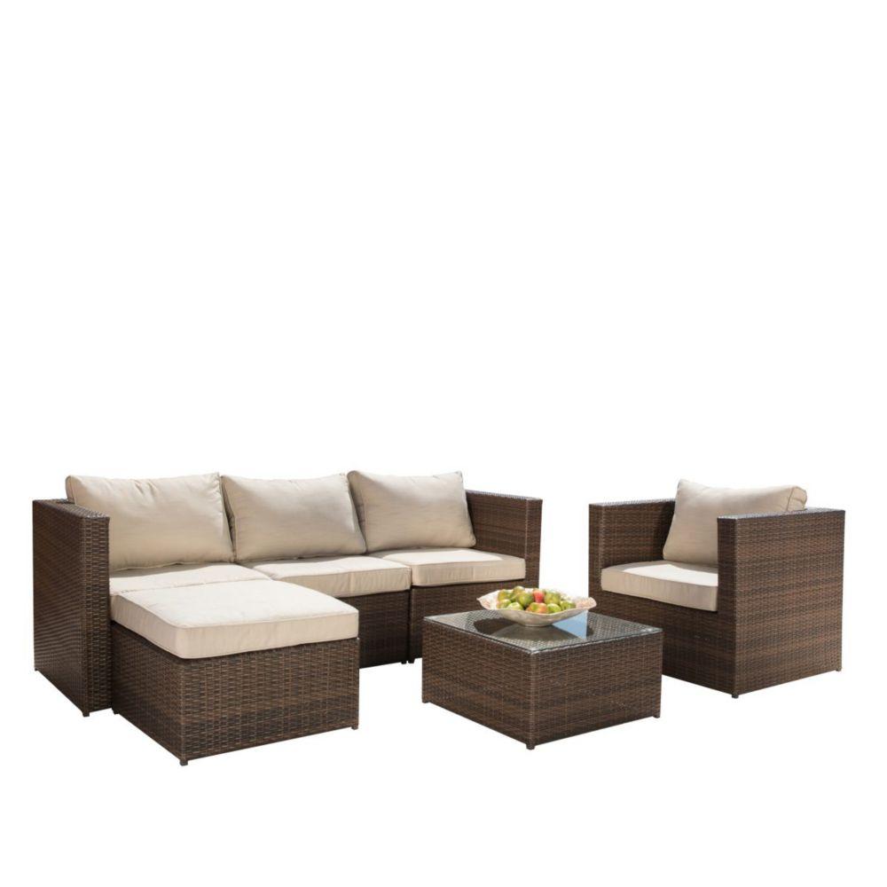 Sirio Milan 6-Piece Patio Seating Set