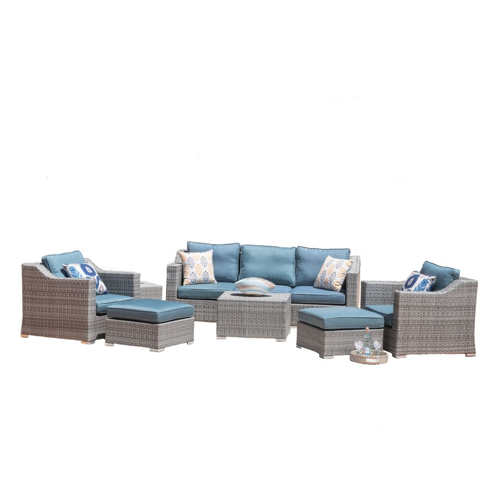 Sirio Kavala 9-Piece Patio Seating Set