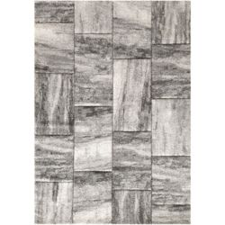 Orian Rugs Monaco Silver 7 ft. 10-inch x 10 ft. Indoor Transitional Rectangular Area Rug