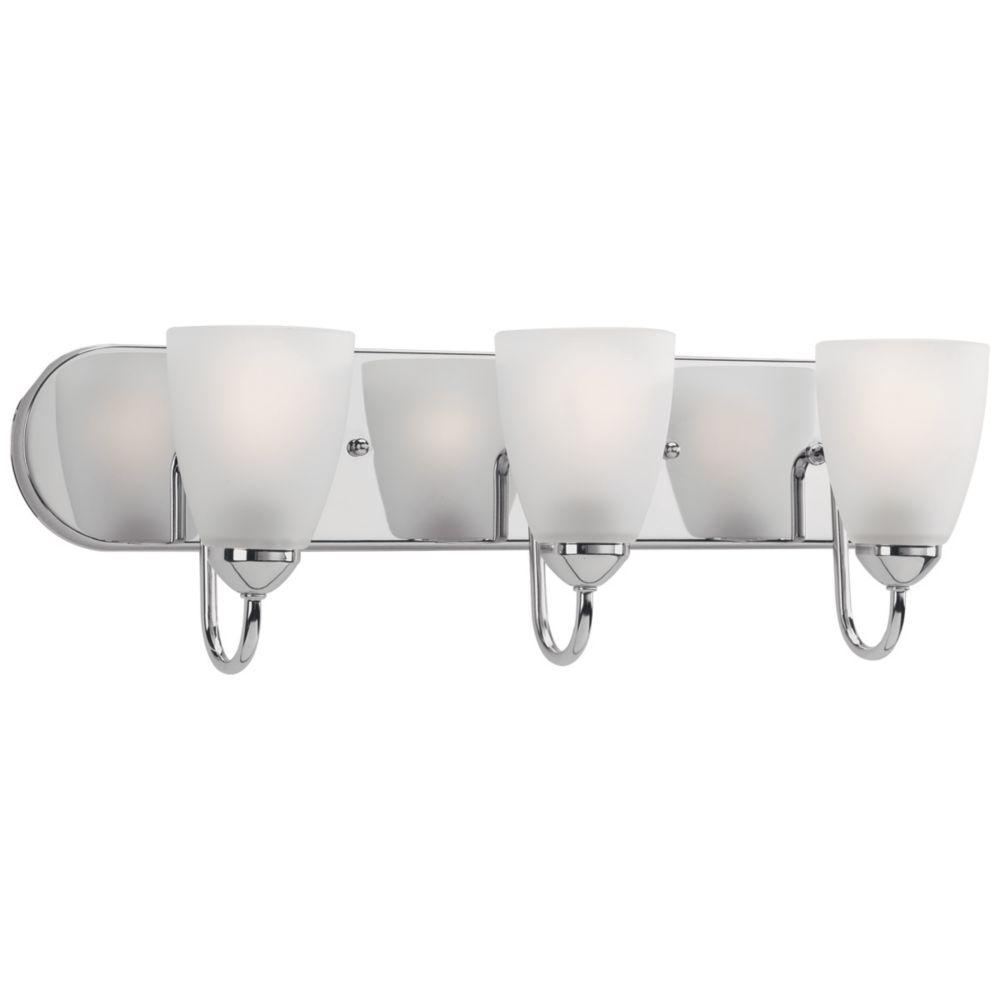 Eurofase dakota collection 6 light chrome bathbar vanity light gather collection 3 light polished chrome vanity light fixture arubaitofo Image collections