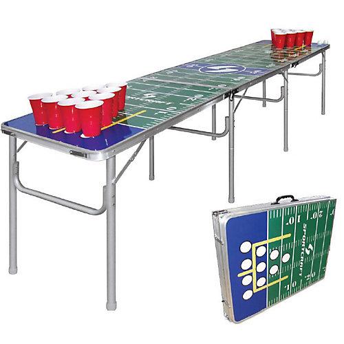 Table portative pour tournoi de jeu de balles et gobelets de Sportcraft
