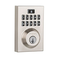 Smartcode 10 Satin Nickel Keyless Entry Contemporary Deadbolt