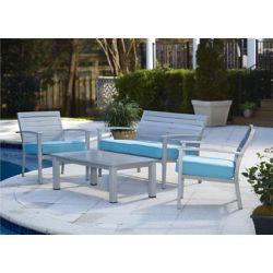 Cosco L'ensemble de meubles pour patio brossé Voile bleu de 4 morceaux de Cosco Outdoor Living