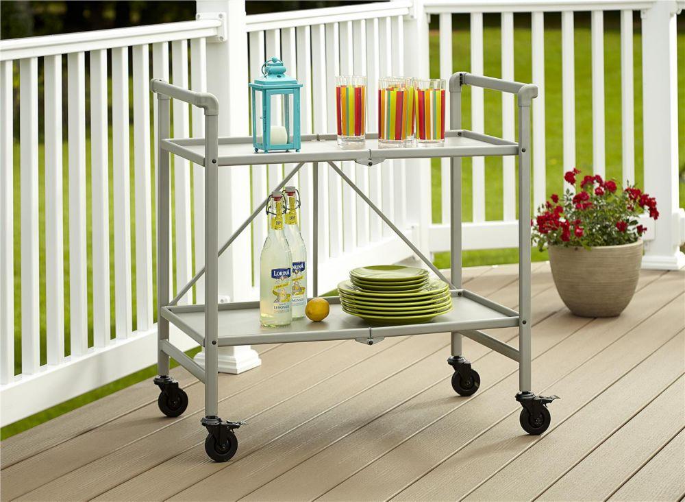 Cosco Indoor / Outdoor Folding Serving Cart