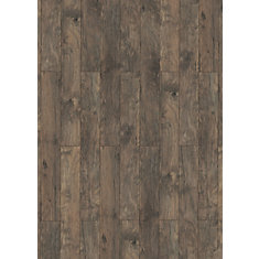 10mm Thick X 6 Inch W Laminate Flooring In Hickory Dark Grey