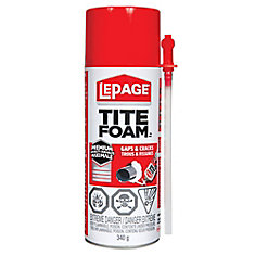 Tite Foam Insulating Foam, 340 g
