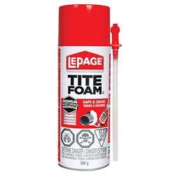 LePage Tite Foam Insulating Foam, 340 g