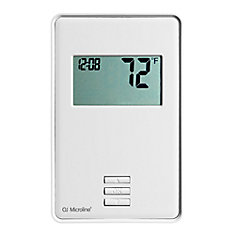 nTrust: Thermostat. Non Programmable, Class A GFCI, w/Floor Sensor
