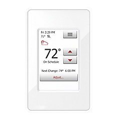nSpire Touch: Touch Thermostat - Programmable, Class A GFCI, w/Floor Sensor