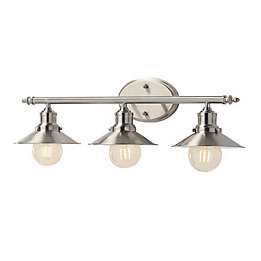 Amazing Brushed Nickel Vanity Light Fixtures Deals