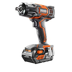 18-Volt 1/2 Inch Impact Wrench Kit