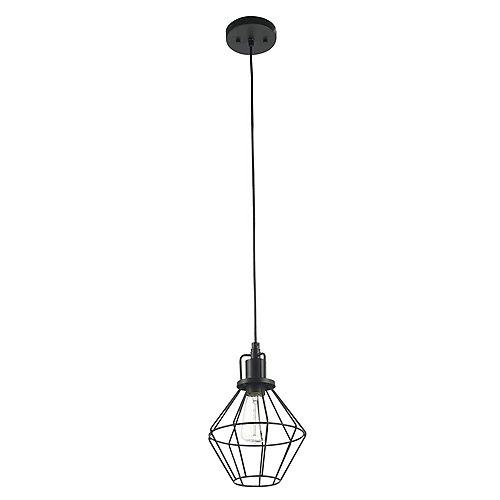 Globe Electric Baldwin 1-Light 60W Matte Black Pendant