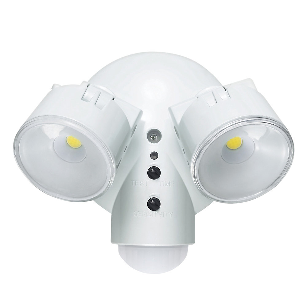 LED for Life 29W 180 Degree White Dusk to Dawn Motion LED Outdoor Security Light