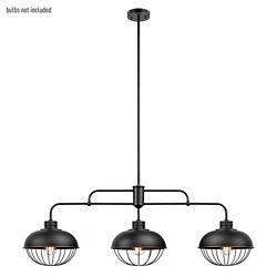 Globe Electric Pendentif de collection Elior à 3 lumières en bronze huilé