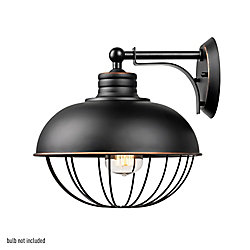 Globe Electric Elior 1-Light Oil Rubbed Bronze Caged Wall Sconce