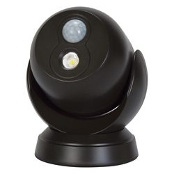 Globe Electric LED for Life 180-Degree Motion Activated Battery Operated In/Outdoor Integrated LED Security Light