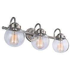 Vanity lighting the home depot canada 3 light vanity fixture aloadofball Gallery