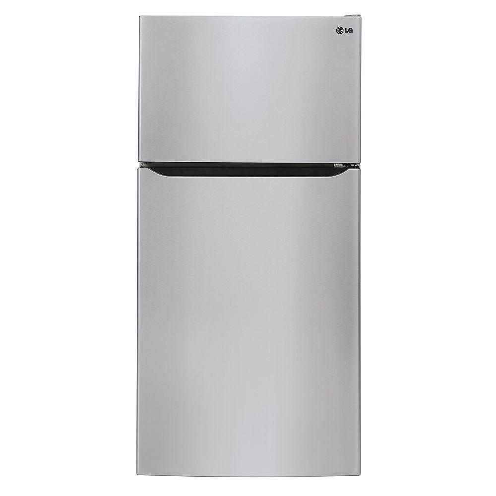 Réfrigérateur supérieur de 30 po W 20 pi3 avec éclairage DEL de première qualité en acier inoxydable - ENERGY STAR®