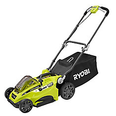 16-inch 40V Li-Ion Cordless Battery Push Lawn Mower (Tool Only)