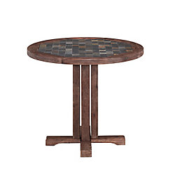Home Styles Morocco Round Patio Dining Table