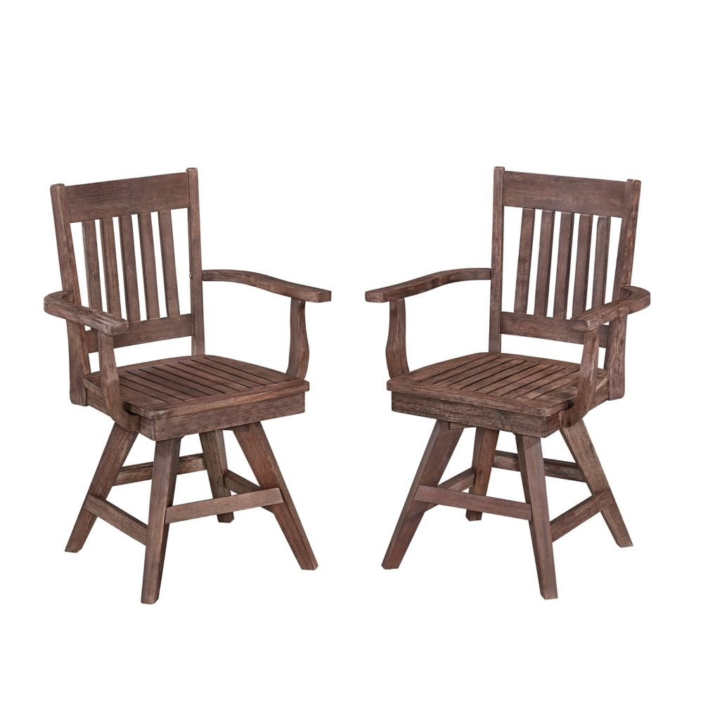 Home Styles Morocco Patio Swivel Chair (Set of 2)