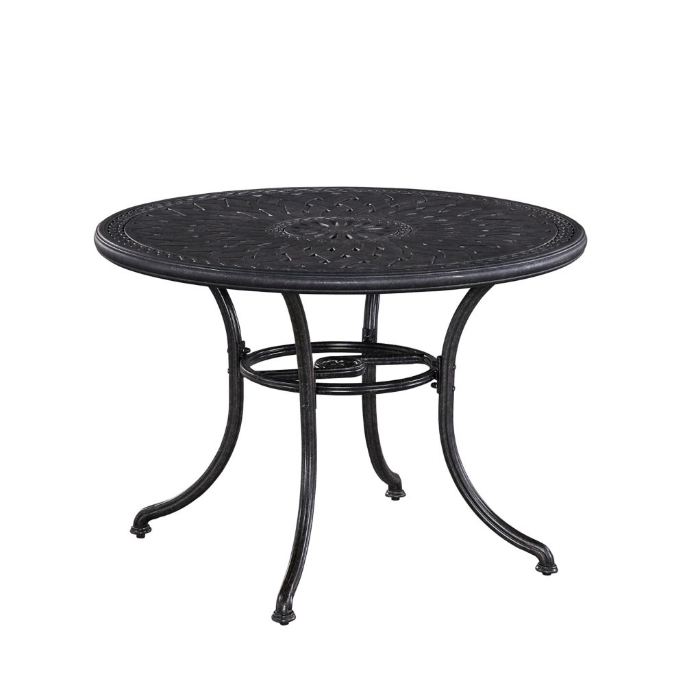 Home Styles Athens 42-inch Round Patio Dining Table