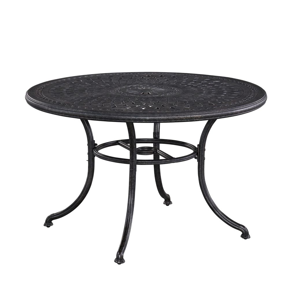 Home Styles Athens 48-inch Round Patio Dining Table