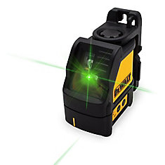 Green Cross Line Laser
