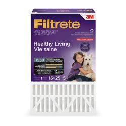 "Filtrete Filters 16-inch x 25-inch x 5-inch Ultra Allergen Reduction Deep Pleated Filtrete"" Furnace Filter"