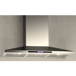 Arda 36-inch 600 CFM Wall Mounted Range Hood with Sensor Touch Control in Stainless Steel