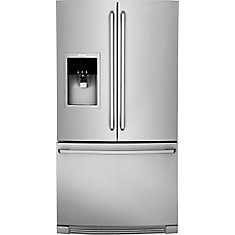 36-inch W 21.5 cu. ft. Bottom Mount Refrigerator in Stainless Steel