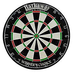 Le choix des gagnants, cible de jeu de fléchettes de 46 cm (18 po) en fibre de sisal