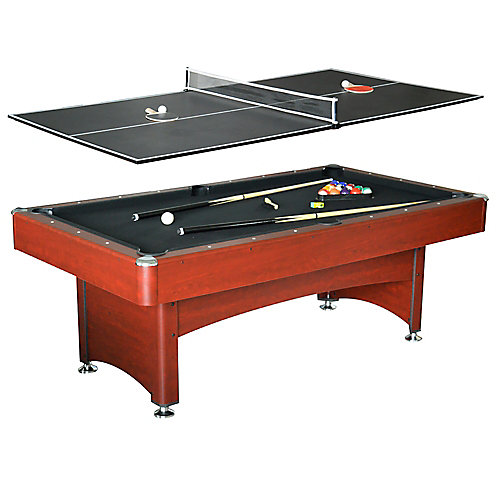 Bristol 7 ft. Pool Table with Table Tennis Top