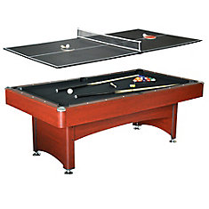 Table de tennis de table/billard Bristol de 2,13 m (7 pi)