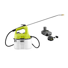 ONE+ 18V Li-Ion Cordless Chemical Sprayer - 1.3 Ah Battery and Charger Included