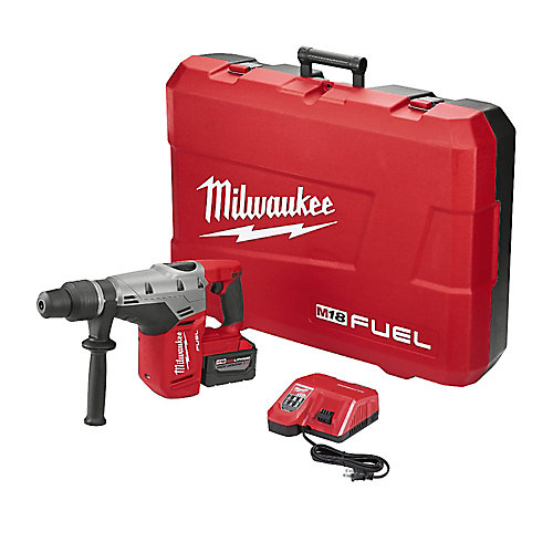 M18 FUEL 18V Lithium-Ion Brushless Cordless 1 9/16-Inch SDS-Max Rotary Hammer Kit W/ Battery