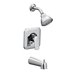 Rizon Single-Handle Posi-Temp Shower Faucet Trim Kit In Chrome (Valve Sold Separately)