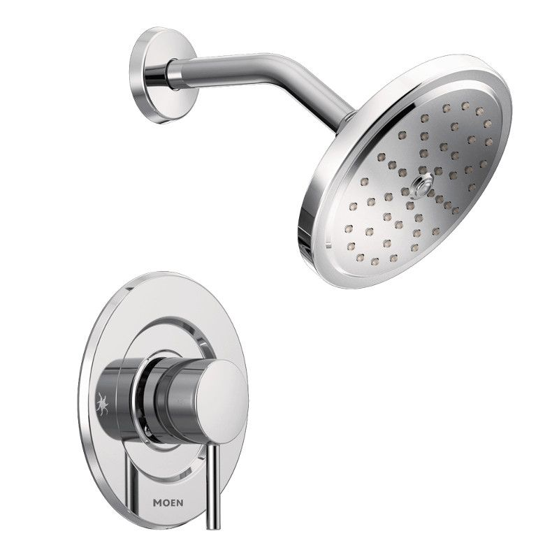 Moen Belfield Brushed Nickel Moentrol Shower Only (Valve Sold Separately)