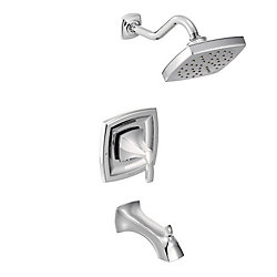 Voss Single-Handle 1-Spray trol Tub and Shower Faucet Trim Kit in Chrome (Valve Sold Separately)