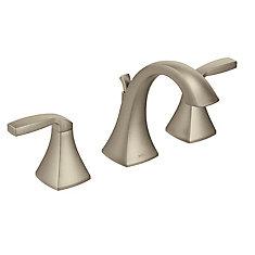 Ensemble de garniture de robinet de salle de bains Voss de 8 po à 2 poignées en nickel brossé (robinet vendu séparément)
