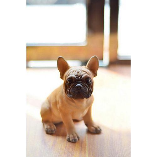 Hi-Line Gift Sitting French Bulldog Puppy