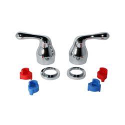 Jag Plumbing Products JAG pour Plombiers: Une paire de poignées de remplacement qui s'adaptent aux robinets Moen ou Delta