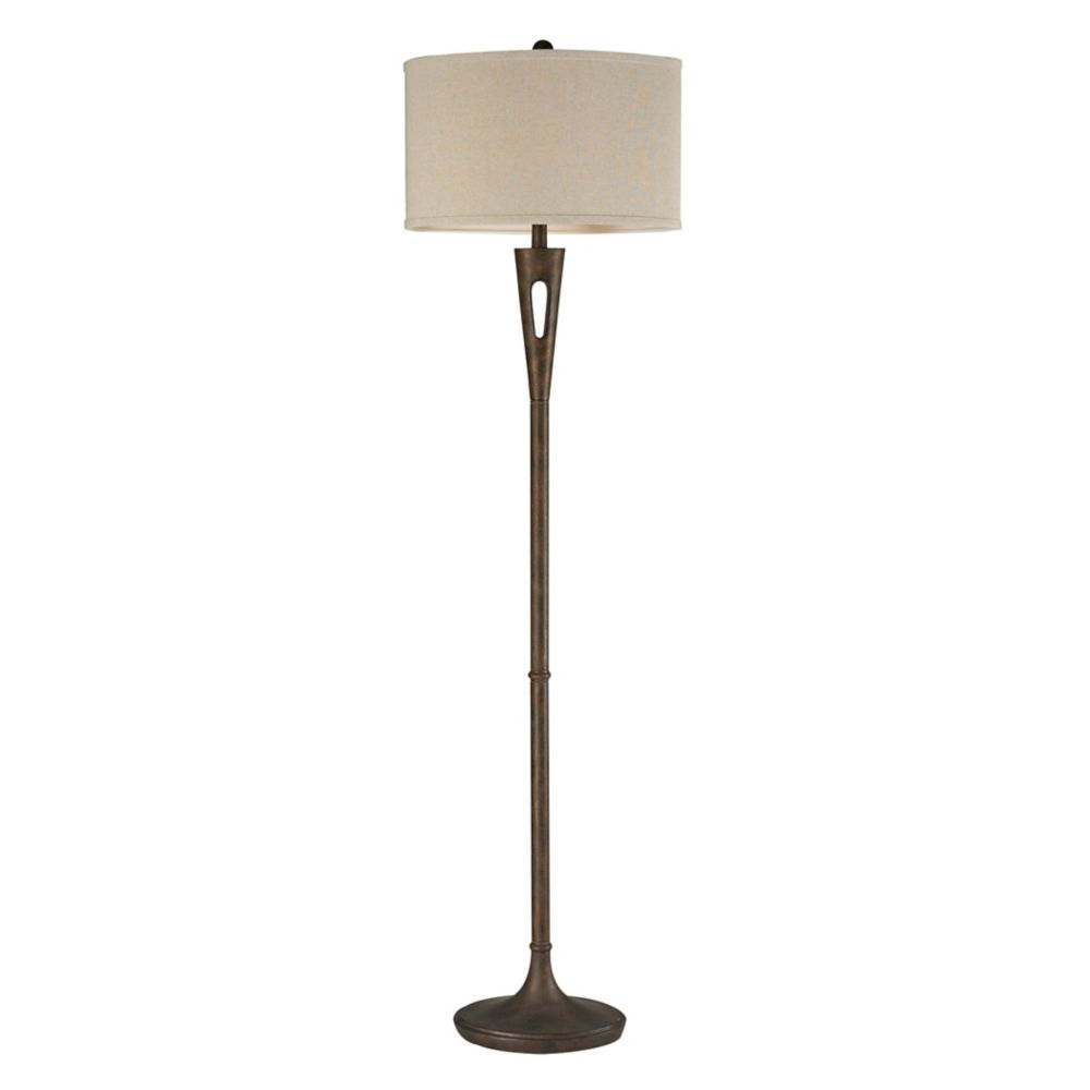 Floor lamps modern industrial more the home depot canada compare martcliff 65 inch floor lamp in burnished bronze aloadofball Gallery