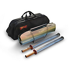 Portable Solar BBQ with Carrying Case