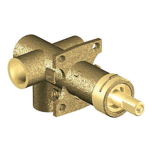 Brass Rough-in 2-Function Transfer Shower Valve with 1/2-Inch CC Connection