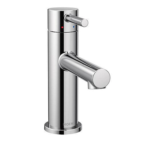 Align Robinet de salle de bain chrome à monocommande à grande arche