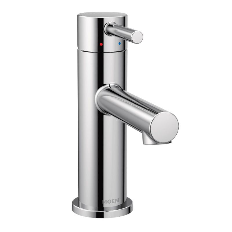 Moen Align Single Hole 1-Handle High Arc Bathroom Faucet in Chrome with Lever Handle